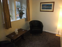 Practice Room upstairs at Kirkburton Osteopathic Practice, Huddersfield