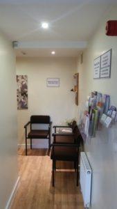 Waiting Room Kirkburton Osteopathic Practice Huddersfield